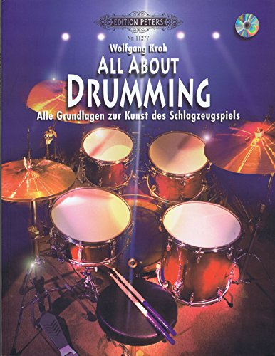 ALL ABOUT DRUMMING BATTERIE +CD