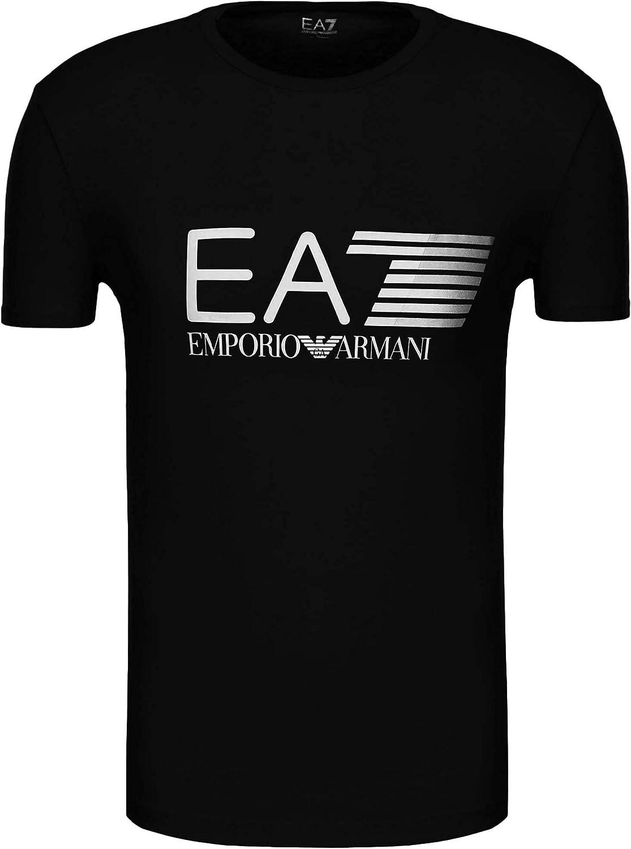 Camiseta Emporio Armani EA7 para hombre 3ZPT62 PJ03Z, manga corta, cuello redondo