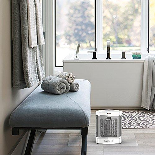Lasko CD08200 Bathroom Heater, White