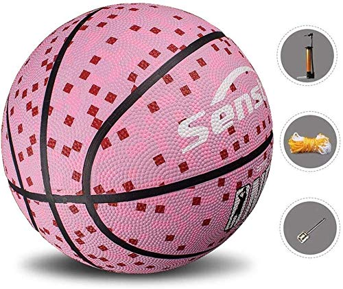 Buy Discount ZHOU.D.1 Basketball- Standard Basketball Indoor and Outdoor No. 7 Basketball Size 9.7 I...
