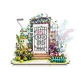 KEHUASHINADIY Casa Jardín Casa de muñecas Accesorios Decorativos Proyecto de Madera Mejor Adulto y Mejor Regalo de cumpleaños para niños