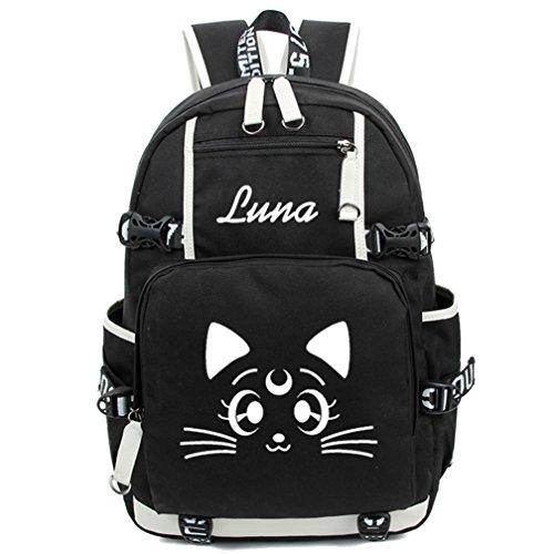 Gumstyle Sailor Moon Luminous Backpack Anime Book Bag Casual School Bag