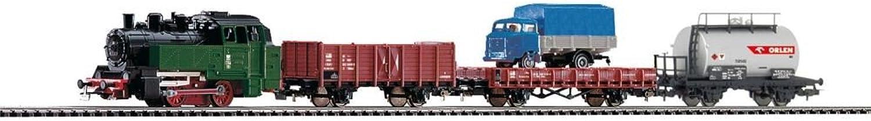 te hará satisfecho Piko 97907Estrellat Juego de Locomotora y Tres güterwagen PKP PKP PKP III, Vehículo de Cocheril  liquidación hasta el 70%