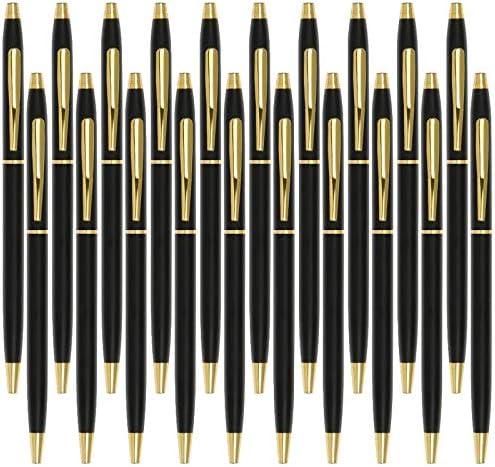 Black Pens Cambond Ballpoint Pen Bulk Black Ink 1 0 mm Medium Point Smooth Writing for Men Women product image