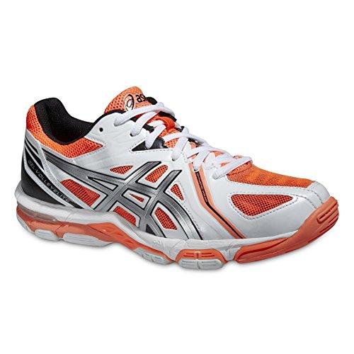 Zapatillas de Voleibol para Mujer Asics Gel Voley Elite 3 Rojas, tamaño:39.5