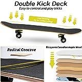 Zoom IMG-1 skateboard per principianti achiyway completo
