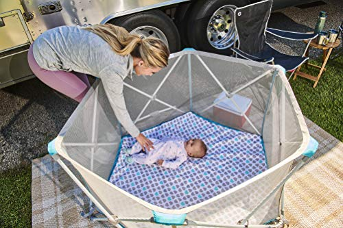Outdoor Playpen For Baby 2021 - Regalo My Portable Play Yard