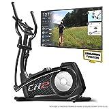 Sportstech CX2 Bicicleta elíptica con aplicación para Smartphone, Kinomap, generador eléctrico Integrado, Bluetooth, Soporte para Tablet, Volante de inercia de 27 kg