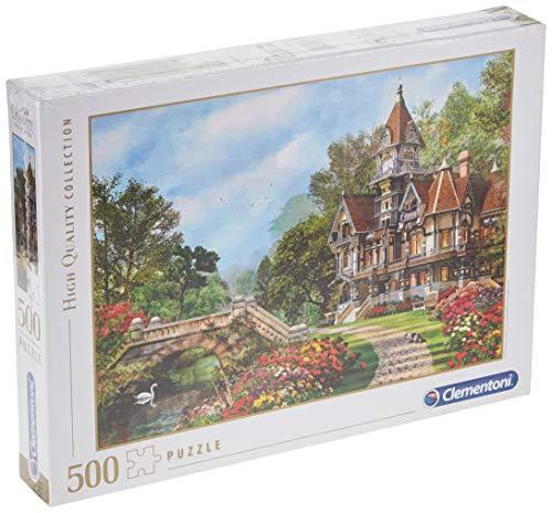Clementoni Old Waterway Cottage Puzzle, 500 Piezas, Multicolor, pezzi (35048.3)