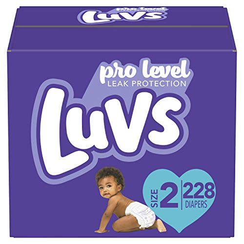 Our #3 Pick is the Luvs Ultra Leakguards Diapers