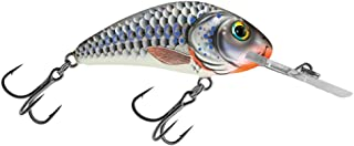 Salmo Rattlin Hornet 3.5 Floating, Silver Holographic Shad