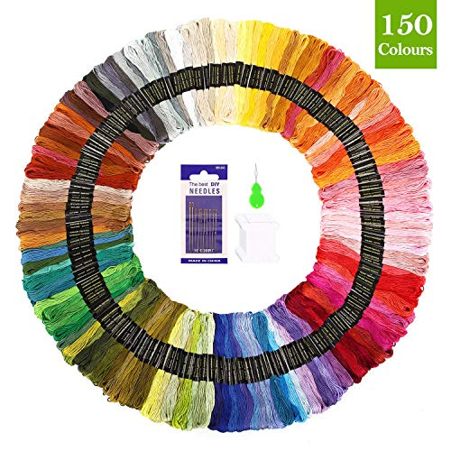 Premium Embroidery Floss 150 Skeins...
