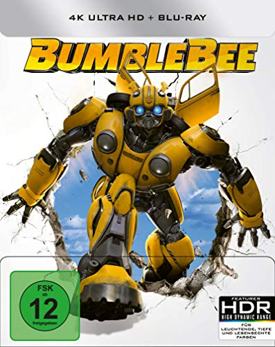 Bumblebee - 4K Ultra HD - Limited Steelbook [Blu-ray]