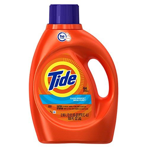 Tide Clean Breeze HE Liquid Laundry Detergent - 92 fl oz