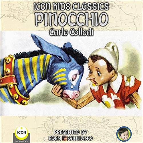 Icon Kids Classics: Pinocchio cover art