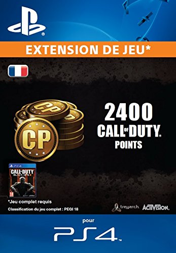 2000 (+400 bonus) points Call of Duty [Extension De Jeu] [Code Jeu PSN PS4 - Compte français]
