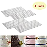 Cake Fondant Impression Mat Mold Diamond Quilted Grid Texture Embossed Lace Embossing Mat Cake...