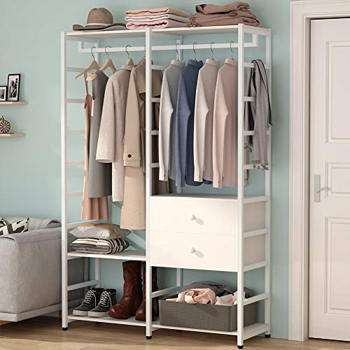 Tribesigns Free-standing Closet organizer, Heavy Duty...