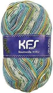 毛糸 Opal-オパール- オリジナルコットン KFS155.ツェン/ブルーグリーン?イエロー系マルチカラー