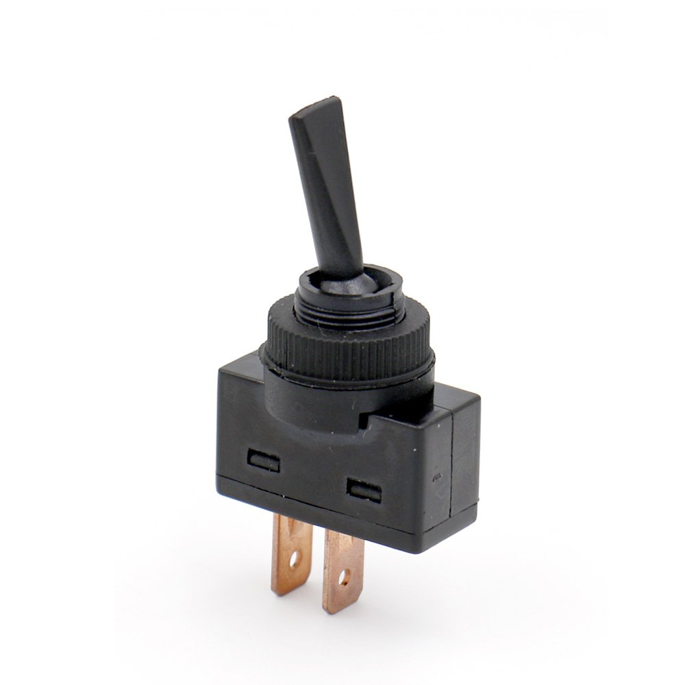 Baomain Toggle Switch Rapid rise Car Black Time sale 12V 20A SPST Off On 2-Pin