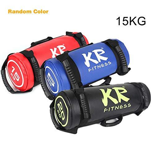 chlius Sandsack Kraftsack Power Bag, Gefüllter Gewicht Fitness Sandsack mit Griffen für Krafttraining, Gewichtheben, Übung 5 kg
