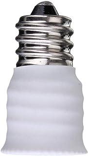 Lixada E12 a E14 Casquillos de lámpara Adaptador del Convertidor de Bombilla de Enchufe Soporte del Convertidor Adaptador de Bombilla LED