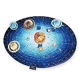 SODIAL Planetas Mapa 3D Rompecabezas Papel Modelo AstronomíA Aprendizaje Juguetes para Ni?Os Educativos Bricolaje Sistema Solar Puzzles de CognicióN