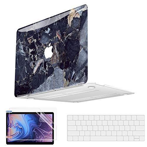 MacBook Air 13 Inch Case 2020 2019 2018 Release A2179 A1932 A2337 M1 MacBook Air 2020 Case Vivid Print Plastic Hard Shell Case & Keyboard Cover Skin & Screen Protector for Apple MacBook Air 13.3 inch