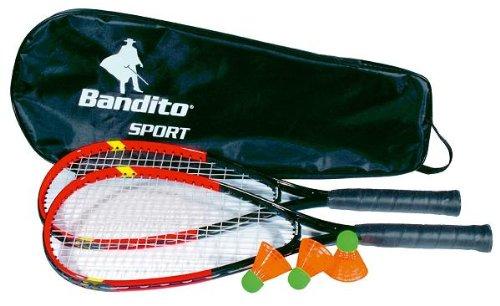 Badminton Bandito Speed-Badminton Set Das Neue Trend Spiel, inklusive Tasche