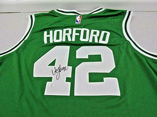 Al Horford Boston Celtics Autographed Adidas Swingman Basketball Jersey Size XL