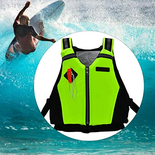 DAUERHAFT Chaleco Flotante Buceo Seguridad en la natación, para niños, Niños, para Kayak(Green)