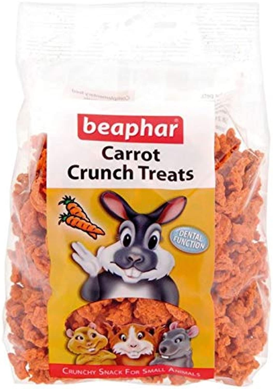 6X Beaphar Carred Crunch for Small Animals 150g