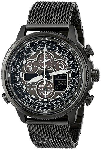 Relógio masculino Citizen Eco-Drive JY8037-50E Navihawk A-T