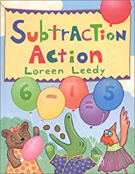 subtraction action book for kids