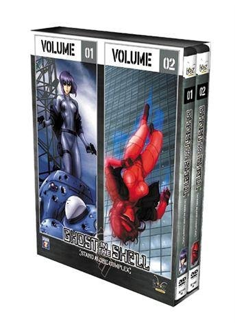 Ghost In The Shell : Stand Alone Complex, vol.1 & 2 - Coffret 2 DVD