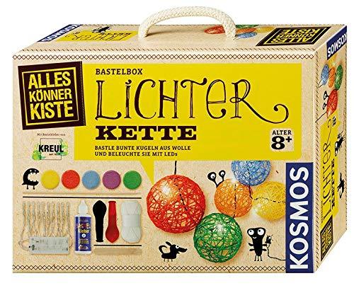 KOSMOS AllesKönnerKiste Lichterkette zum Selbermachen - DIY-Bastelset für Mädchen und Jungen ab 8 Jahren – das ideale Geschenk-Set für den Kindergeburtstag