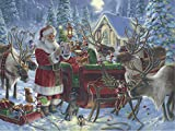 Ravensburger13977 Packing The Sleigh 1000 Piece Piece Jigsaw Puzzle for Adults – Every Piece is Unique, Softclick Technology Means Pieces Fit Together Perfectly