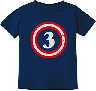 Captain 3rd Birthday - Gift for Three Years Old Toddler/Infant Kids T-Shirt