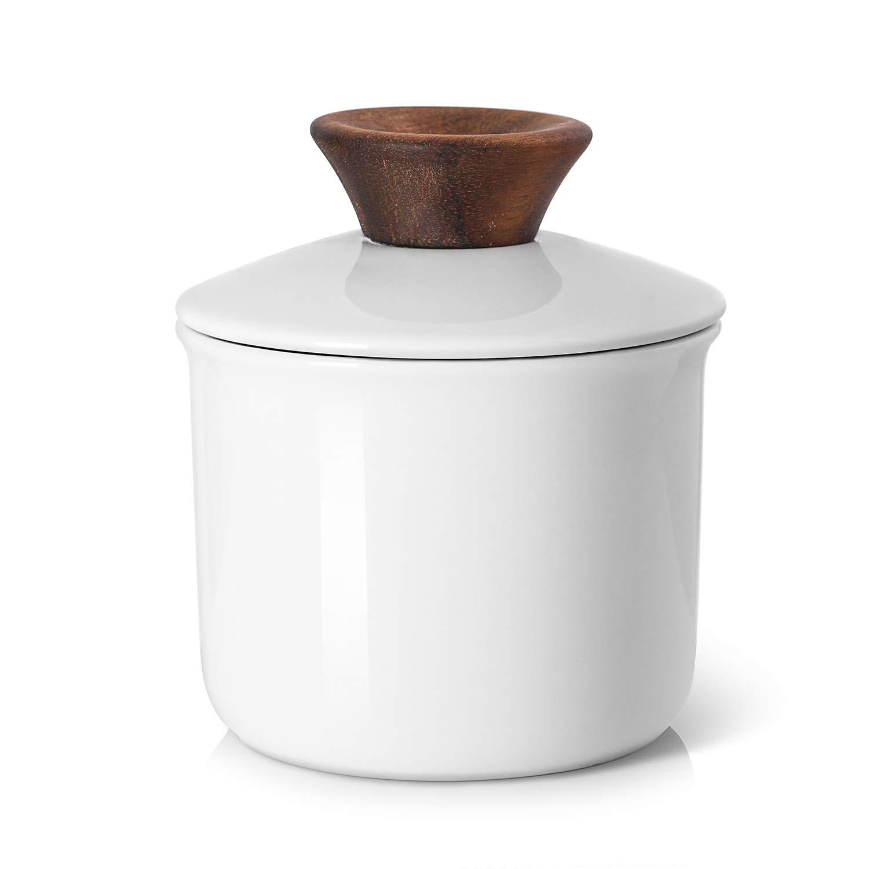 DOWAN Porcelain Butter Keeper Crock