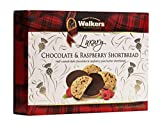 Walkers Shortbread Chocolate & Raspberry Shortbread Cookies, 5.6 Ounce...