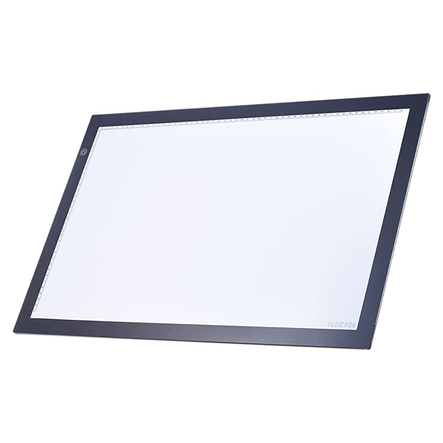 KKmoon A2 LED Light Box Drawing Tracing Tracer Copy Board Table Pad Panel Copyboard with Memory Function Stepless Brightness Control for Artist Animation Tattoo Sketching