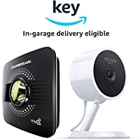 Chamberlain MyQ Smart Garage Hub with Smartphone Control (Black) + Amazon Cloud Cam