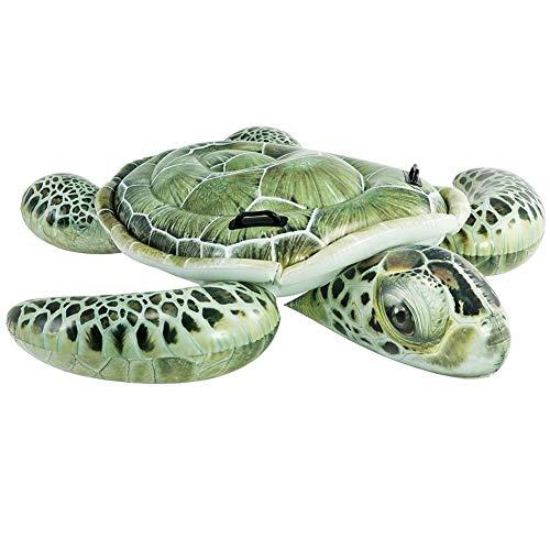 Luftmatratzen & Aufblasartikel Kindersitz erhöhteLuftmatratze Pool Lounger Aufblasartikel Strandspielzeug für Erwachsene & Kinder Schildkröte
