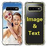 AIPNIS Coque Samsung Galaxy S10 Plus Personnalisée, Cadeau Photo Personnalisé Absorption des Chocs...