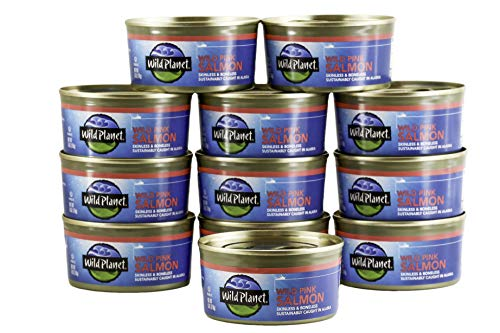 Wild Planet, Wild Pink Salmon, 6 Ounce, Pack of 12