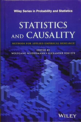 Statistics and Causality: Methods for Applied Empirical Research (Wiley Series in Probability and Statistics)