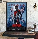 LGXINGLIyidian Marvel Film Poster Marvel Avengers Sammlung Poster Und Drucke Final Game Leinwand Malerei Home Decor Art Uo1173 40X50Cm