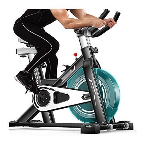 Spinning Bike Bicicleta De Ejercicios con Soporte para Teléfonos Móviles, Bicicletas Estacionarias En El Gimnasio De La Casa, Bicicleta Girando con Cubierta Protectora del Volante