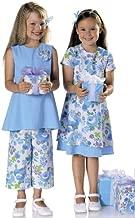 Burda 9691 Dress & Pants Sewing Pattern, Girl's Size 4. 6. 8. 10