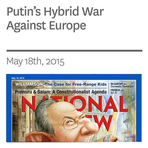 Putin's Hybrid War Against Europe audiobook cover art